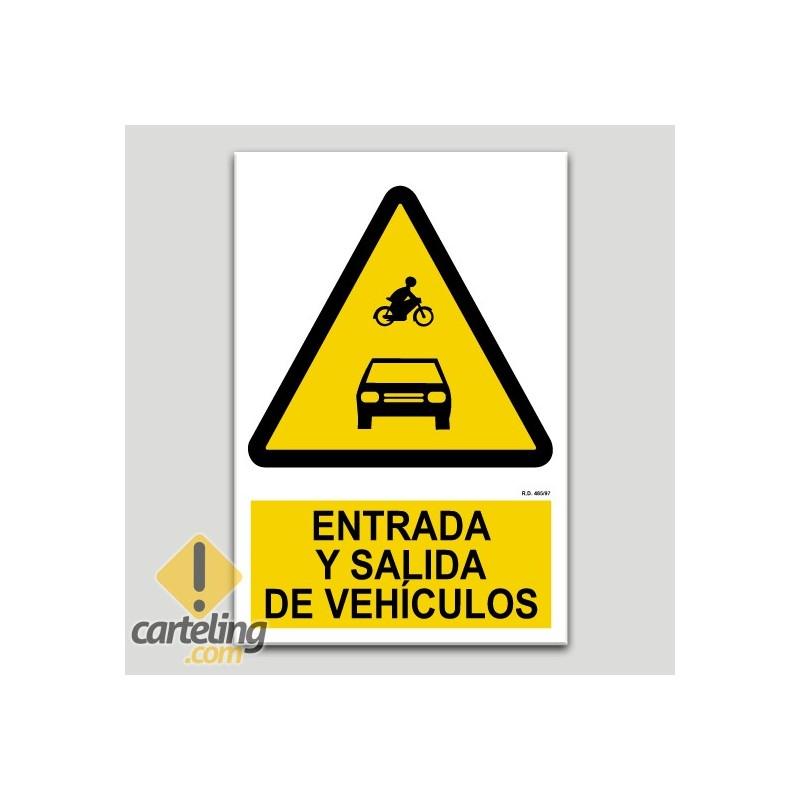 Entrada i sortida de vehicles