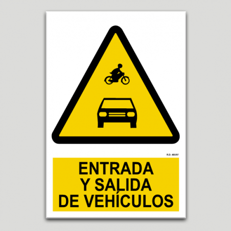 Entrada i sortida de vehicles