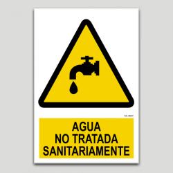 Agua no tratada sanitariamente