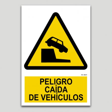 Perill caiguda de vehicles