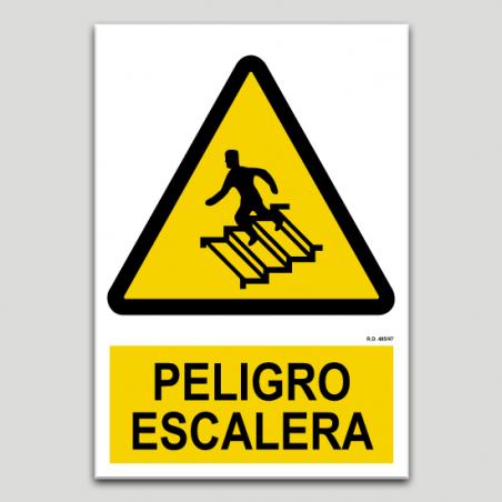 Peligro escalera