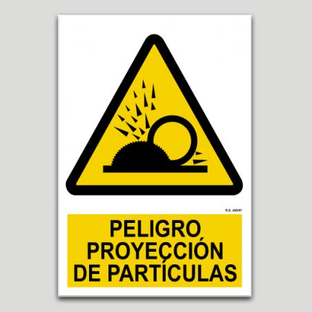 Perill projecció de partícules