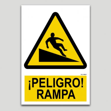 Peligro rampa