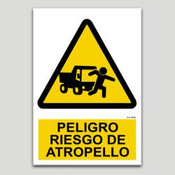 Perill risc d'atropellament