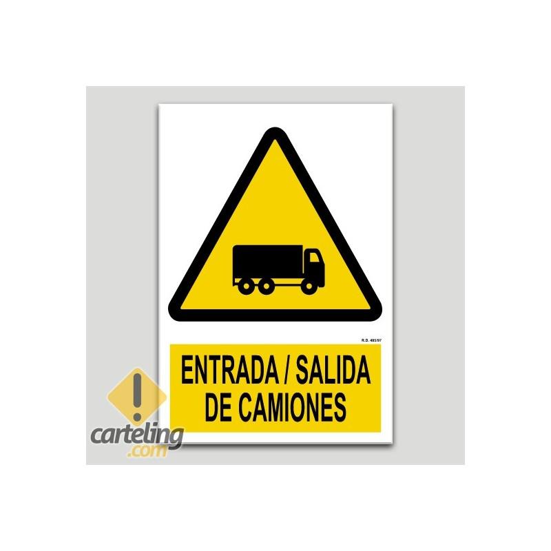 Entrada salida de camiones
