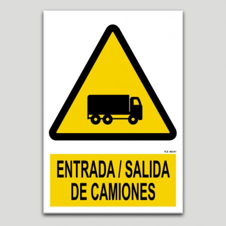 Entrada sortida de camions