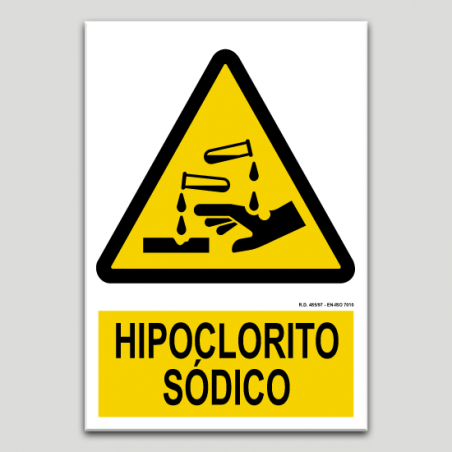 Hipoclorito sódico