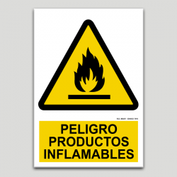 Peligro productos inflamables