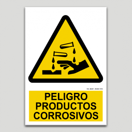 Perill productes corrosius
