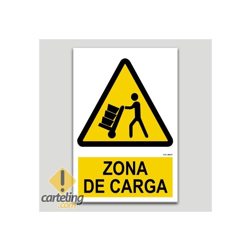 Perill zona de càrrega