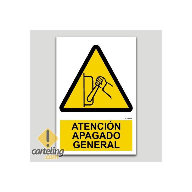 Atención apagado general