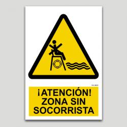 Atenció zona sense socorrista