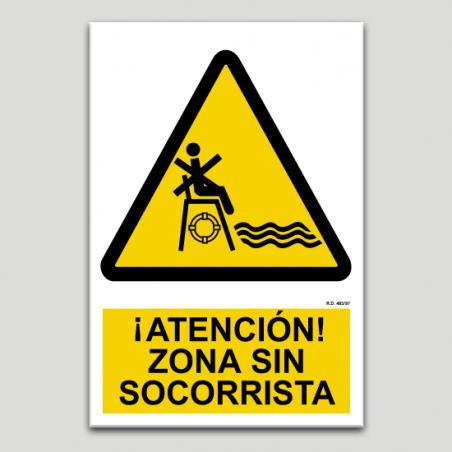 Atención zona sin socorrista