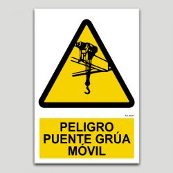 Perill pont grua mòbil