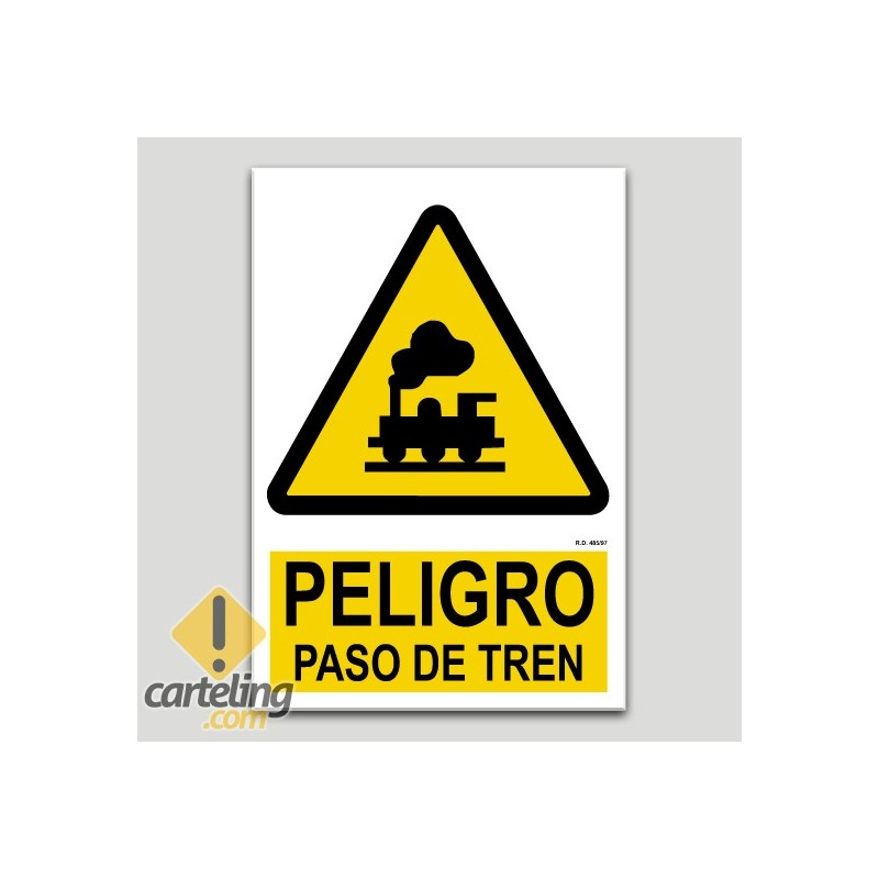 Perill pas de tren