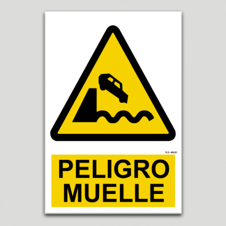 Peligro muelle