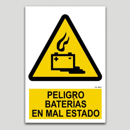 Perill bateries en mal estat
