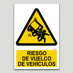 Risc de bolcada de vehicles