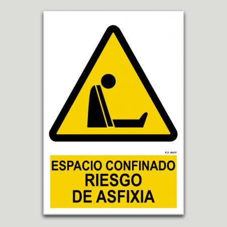 Espacio confinado, riesgo de asfixia