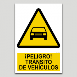 Perill, trànsit de vehicles