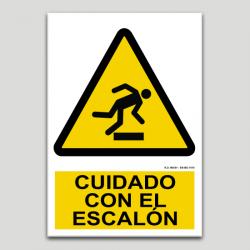 Cuidado con el escalón
