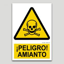 Peligro amianto