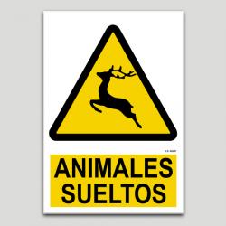 Peligro animales sueltos