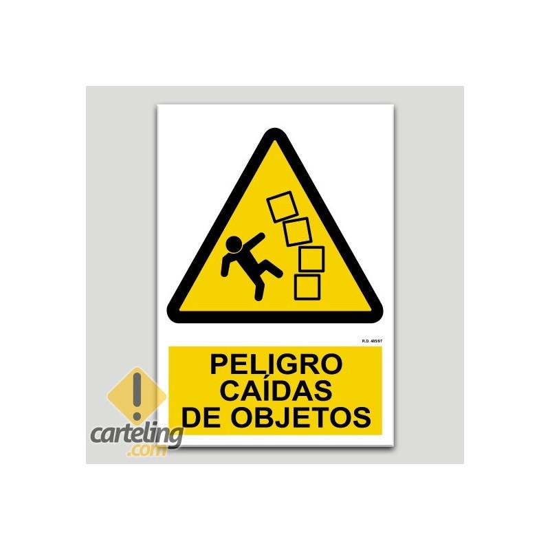 Perill per caiguda d'objectes