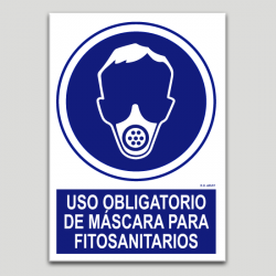 Ús obligatori de màscara per fitosanitaris