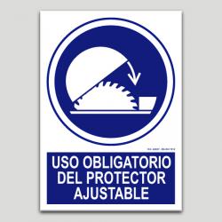 Ús obligatori del protector adjustable