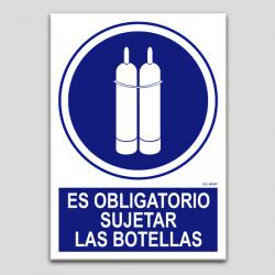 És obligatori subjectar les ampolles