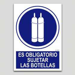 Es obligatorio sujetar las botellas