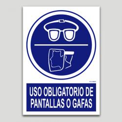 Ús obligatori de pantalles o ulleres