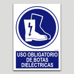 Ús obligatori de botes dielèctriques