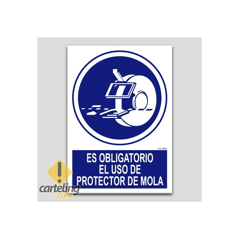 Es obligatorio el uso de protector de mola