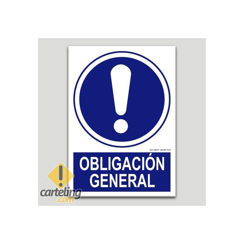 Obligació general