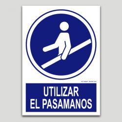 Utilizar el pasamanos