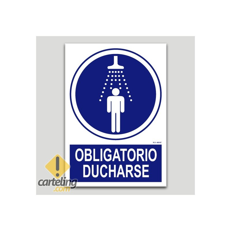 Obligatorio ducharse