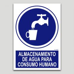 Emmagatzematge d'aigua per consum humà