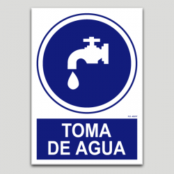 Toma de agua