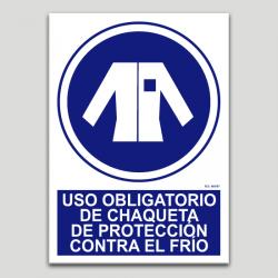 Ús obligatori d'abric de protecció contra el fred