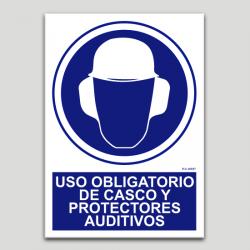 Ús obligatori de casc i protectors auditius