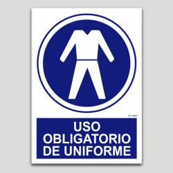 Ús obligatori d'uniforme
