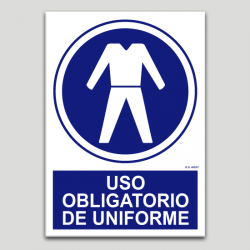 Uso obligatorio de uniforme