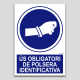 Ús obligatori de polsera identificativa