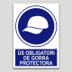 Ús obligatori de gorra protectora