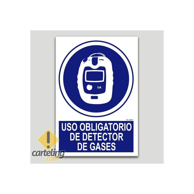 Uso obligatorio de detector de gases