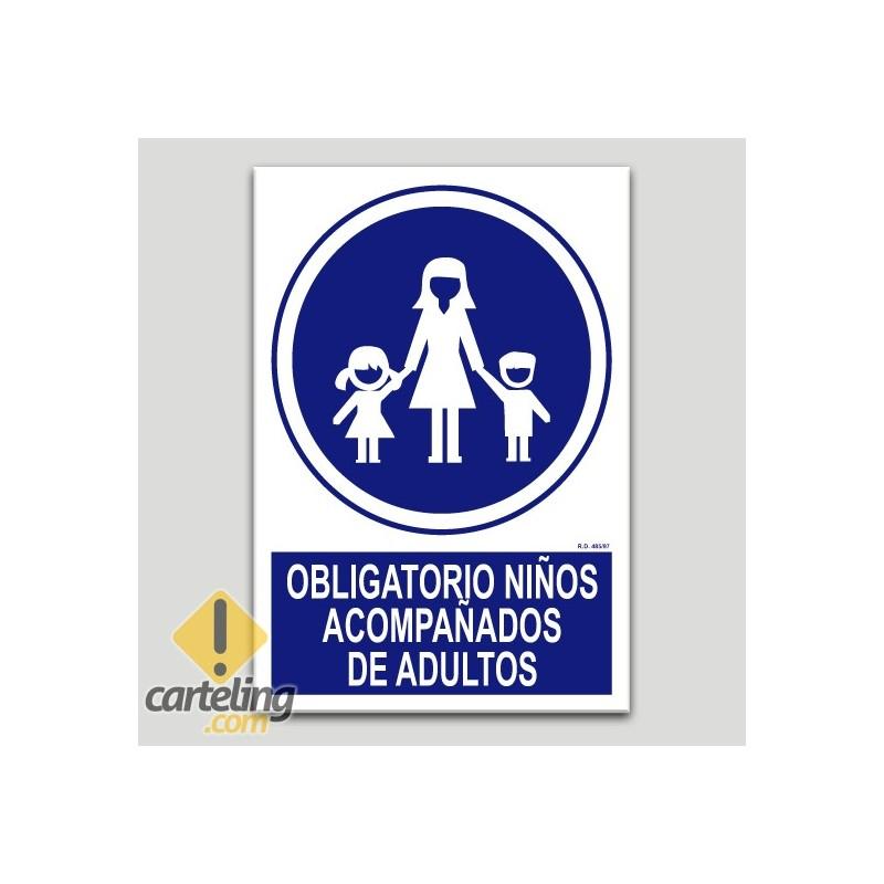 Obligatori nens aconpanyats d'adults