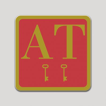 Placa distintivo Apartamento dos estrellas - Asturias
