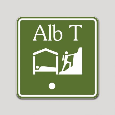 Placa distintivo Albergue turístico primera categoría - Asturias